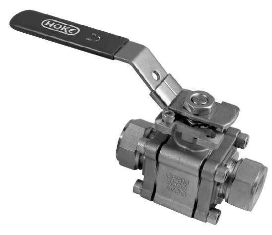 Industrial Lever Ball Valve End : Item g y piece full port ball valves gyrolok